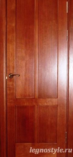 межкомнатные двери цвет вишня фото