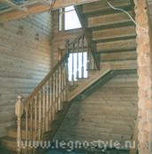изготовление деревянных лестниц для дачи