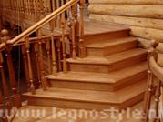 цены на готовые лестницы из дерева для дачи