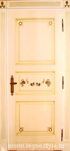 двери межкомнатные белый лак