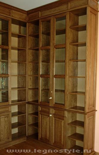 Книжные шкафы в гостиной в самаре - мебель для дома тут!.
