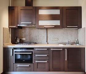 Кухню эконом класса  отдельными модулями