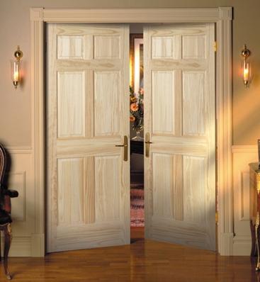 Класичні розпашні міжкімнатні двері